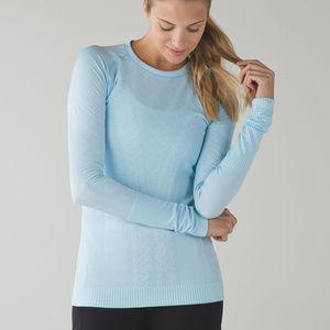 Lululemon Restless Pullover in Caspian Blue